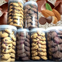 6 X 225G CANISTER COOKIES (pelbagai)